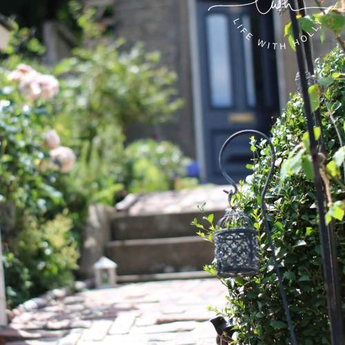 Brick path - North Facing Cottage Garden - My Garden in June - Life with Holly (12)