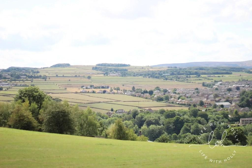 Fields near Honley, Holmfirth - Summer Walks - Life with Holly