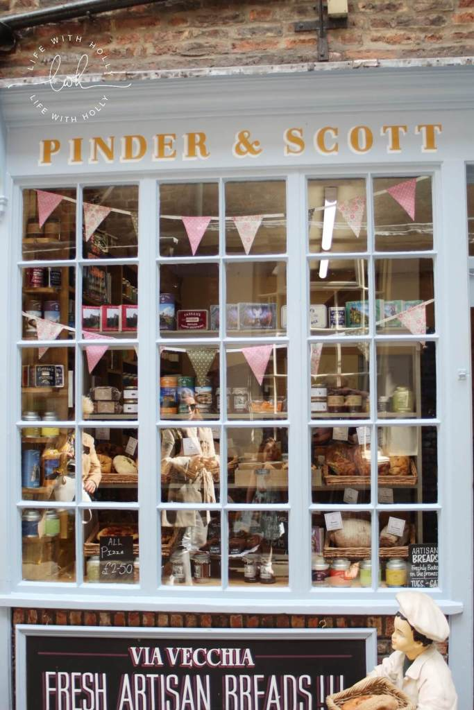 Pinder & Scott The Shambles - Harry Potter in York - Day Tripping - Life with Holly
