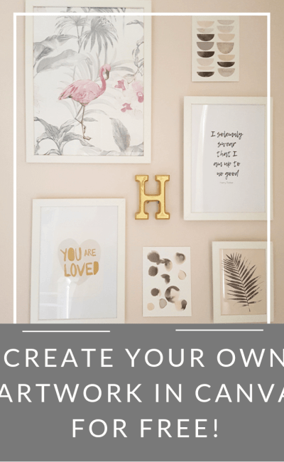 How to Create Your Own Typographical Artwork using Canva