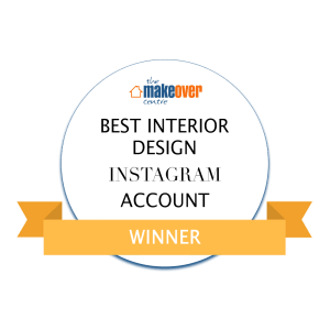 @life_with_holly Best Interior Design Instagram Account Winner Badge