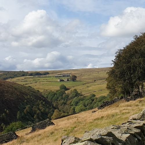 Weekend Wander - Autumnal Geoache Walk - Digley Reservoir, Holmfirth