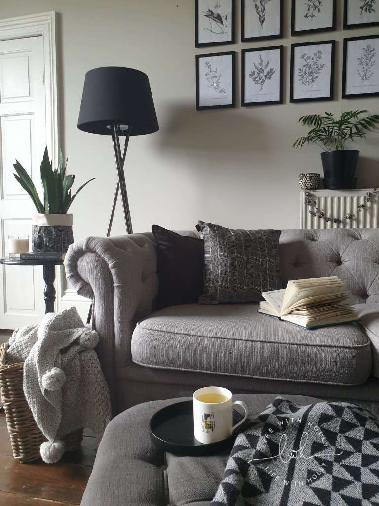 monochrome Scandi style by Life with Holly & 2shedstudios