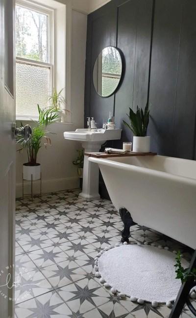 How I Tiled our Bathroom Floor – A Floor Tiling Tutorial