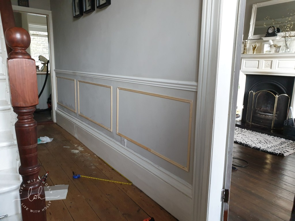 How-to-Panel-a-Victorian-Hallway-Wall-an-easy-tutorial-by-Life-with-Holly