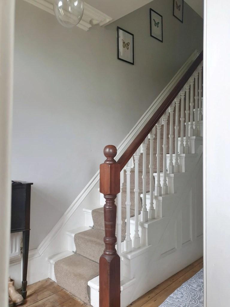 Victorian Hallway with stair runner