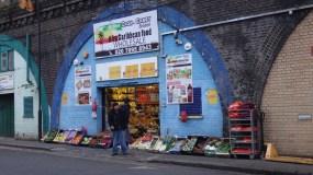 Shop in a railway arch