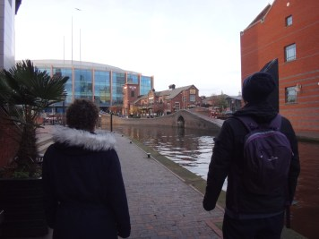 Viw along the Canal