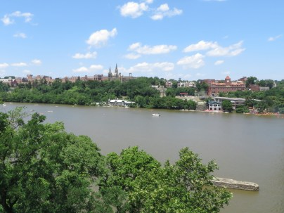 View from Key Bridge