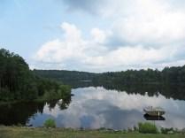 Lake Mercer, from the dam