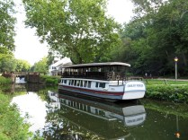 Canal barge at Great Falls Tavern