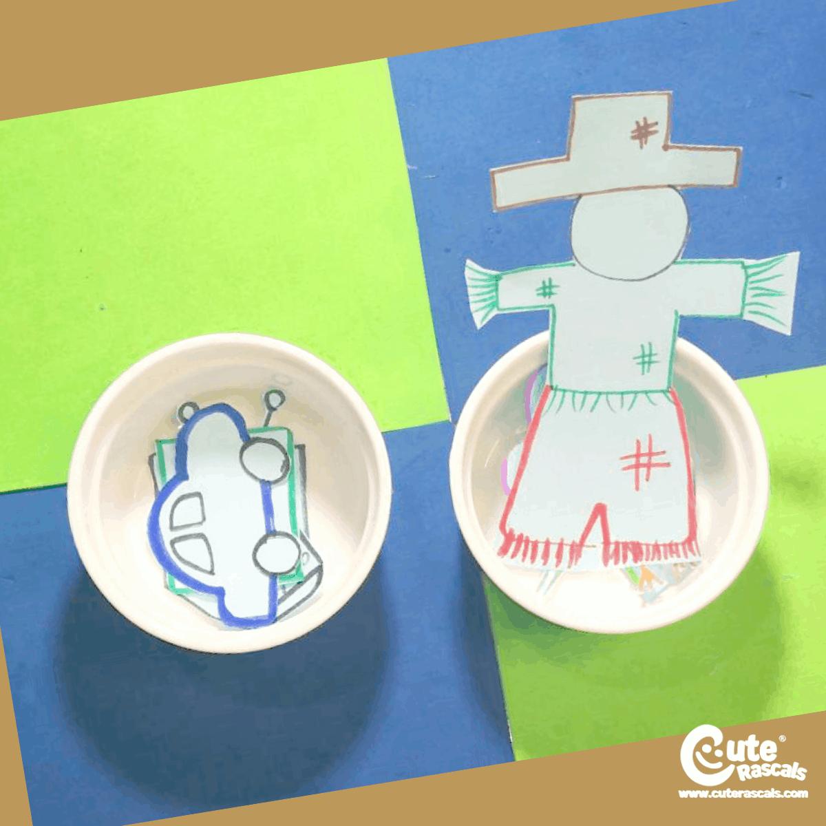 Sorting Objects Kindergarten Activity