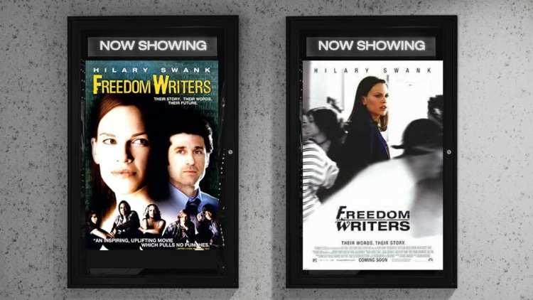 Freedom Writers movie posters
