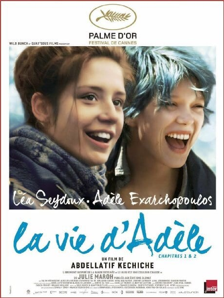 Blue Is The Warmest Colour Movie Poster in French