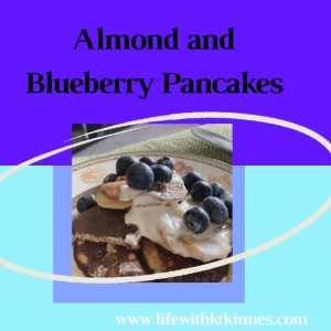 Almond and Blueberry Pancakes feature photo