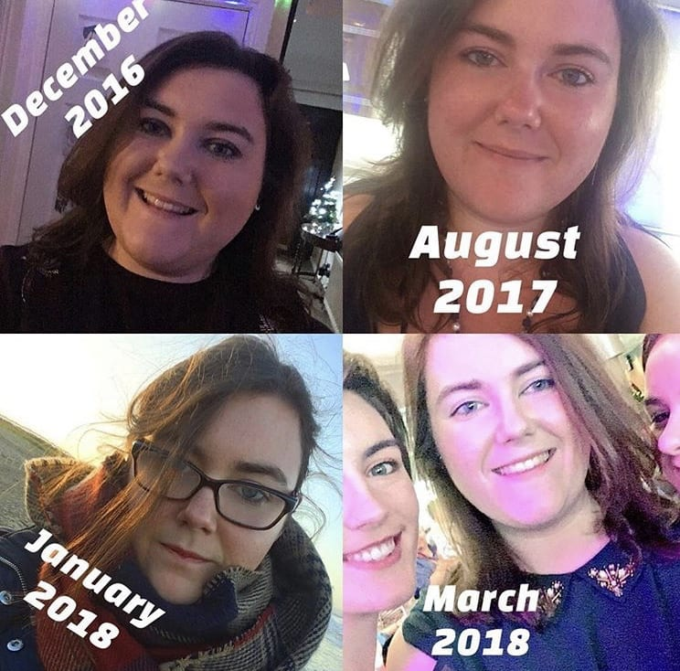 The Weight Loss Journey from December 2016 to March 2018