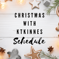 Christmas With Ktkinnes Schedule 2020