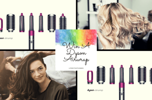 hair salon and dyson airwrap images