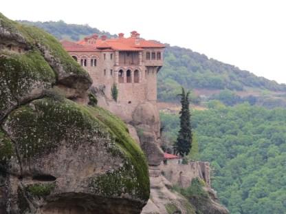 Meteora Monastery - Mainland Hill Station
