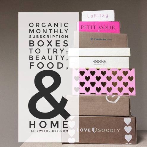 Organic subscription boxes to try