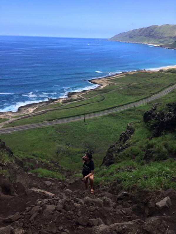 Kaena Point Cave Oaho Hawaii