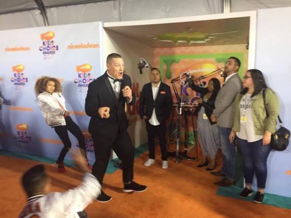 libby Vilner Nickelodeon Kids Choice Awards Red Carpet 2017