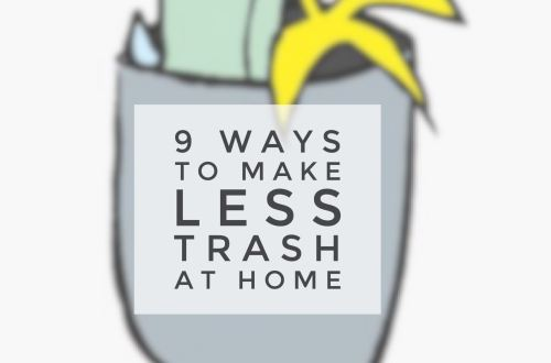 less trash