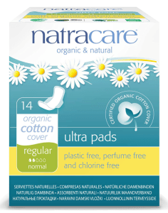 Natracare non toxic pads