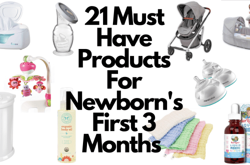 21 must have newborn products