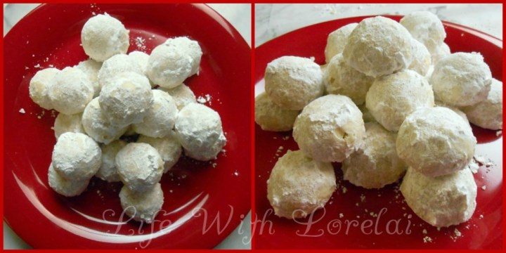Mexican Wedding Cakes or Snowball Cookies   Life With Lorelai Mexican Wedding Cakes   Snowball Cookies   Life With Lorelai