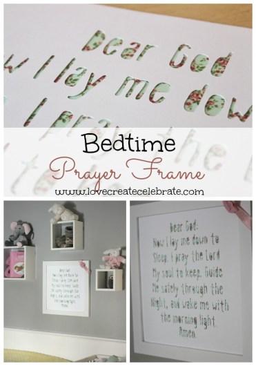 Bedtime Prayer Frame - HMLP Feature