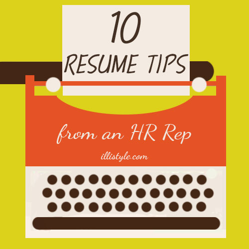 10 Resume Writing Tips form an HR Rep - HMLP #37 Feature