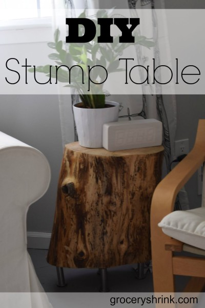 DIY Stump Table - HMLP 49 Feature
