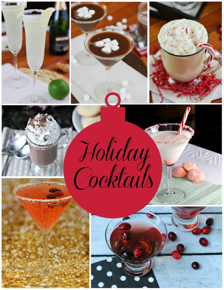 Holiday Cocktails - Simply {Darr}ling - HMLP 67 Feature
