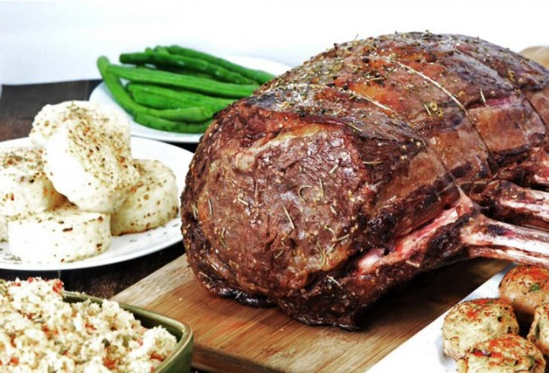 Melt in Your Mouth Prime Rib Recipe - Foodie & Wine - HMLP 68 Feature