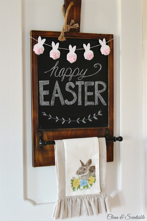 Easter Mini Bunny Bunting- Clean & Scentsible - HMLP 75 - Feature