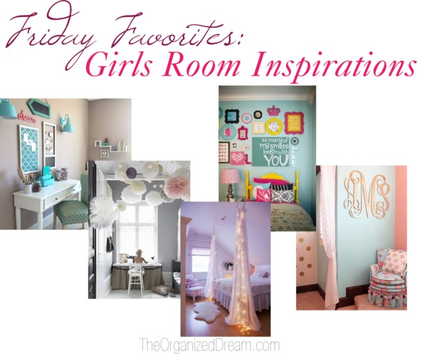 Girls Room Inspiration - The Organized Dream - HMLP 73 - Feature
