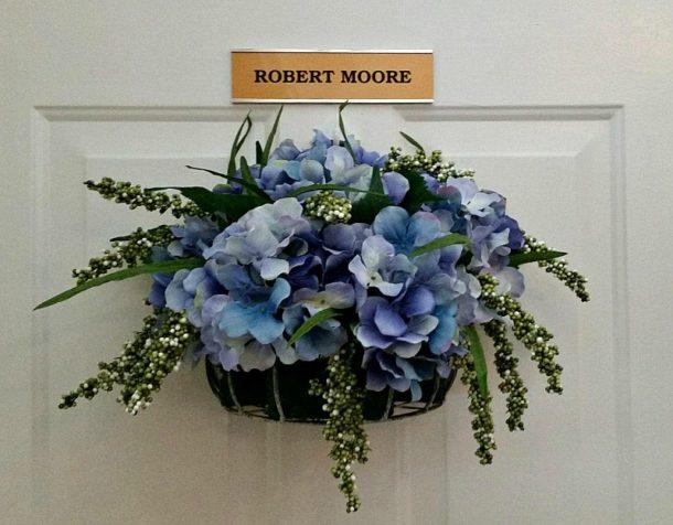 DIY Hydrangea Door Decor - Intelligent Domestications - HMLP 84 - Feature