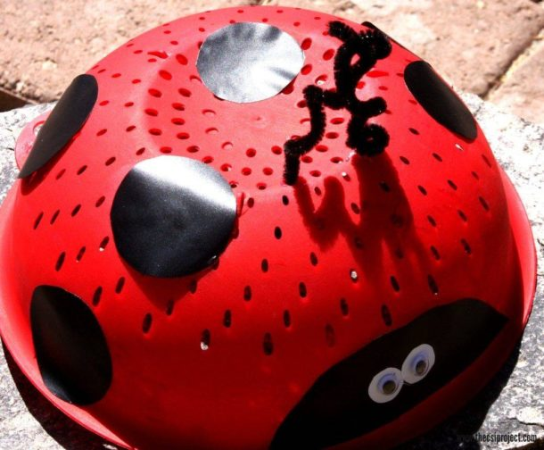 Upcycle Lady Bug Craft - The CSI Project - HMLP 88 - Feature