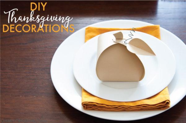 Pumpkin Box DIY Thanksgiving Decoration - Oh My! Creative - HMLP 111 Feature