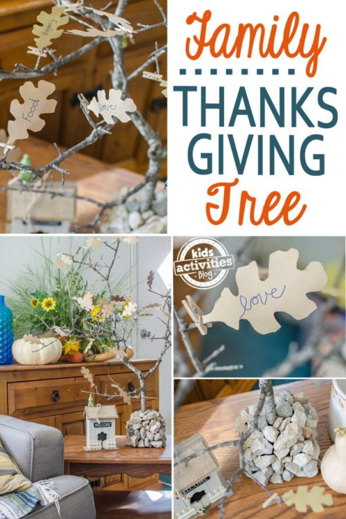 Teach Kids Gratitude - Make A Family Thanksgiving Tree - Kids Activities Blog - HMLP 111 Feature