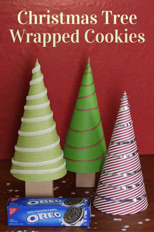 Christmas Tree Wrapped Cookies - The Crafty Blog Stalker - HMLP 115 Feature