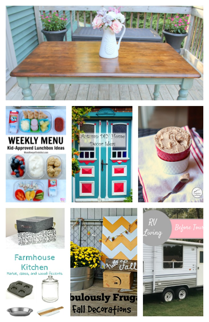 Come join the fun and link your blog posts at the Home Matters Linky Party. Find inspiration, recipes, decor, crafts, organize, home, garden, repurpose, upcycle -- Door Opens Friday EST.