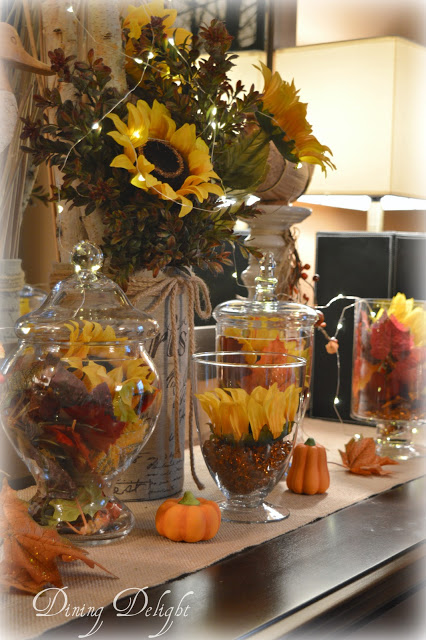 Sunflowers on the Sideboard - Dining Delight - HMLP 159 Feature
