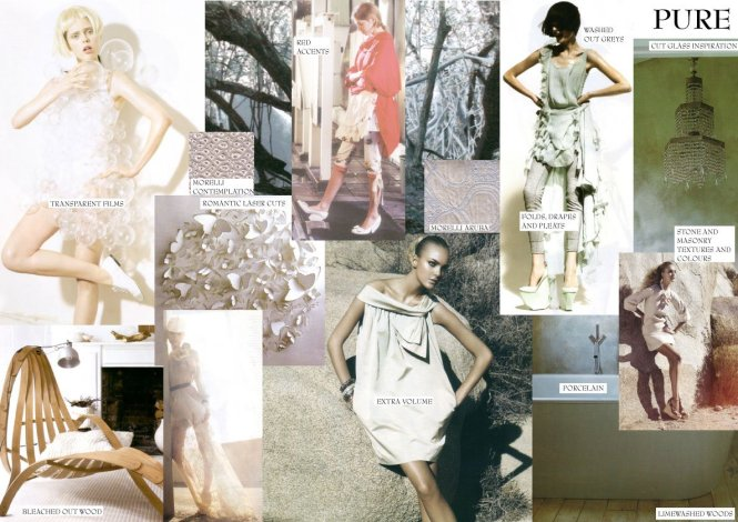 fashion spread mood board