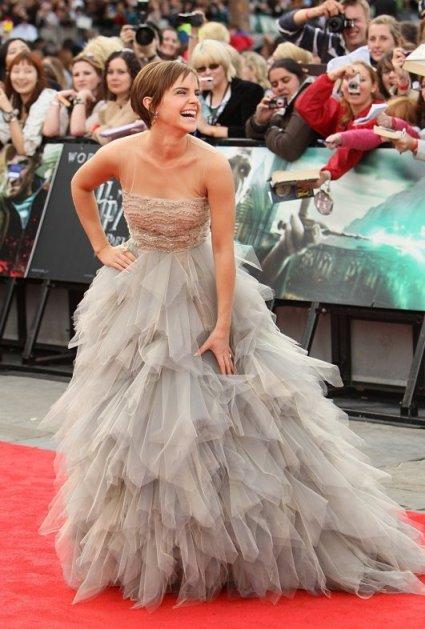 Emma Watson Oscar de la Renta