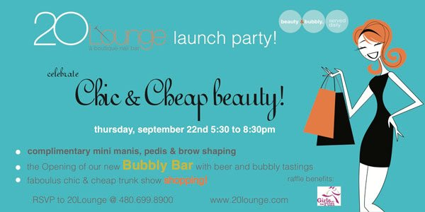 20 Lounge Scottsdale Chic & Cheap event