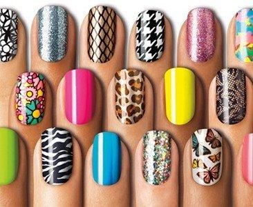 Sally Hansen nail effects real nail polish strips