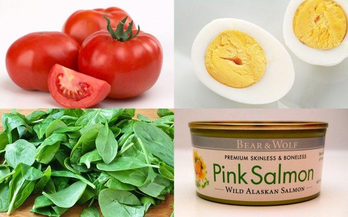 simple salmon salad recipe