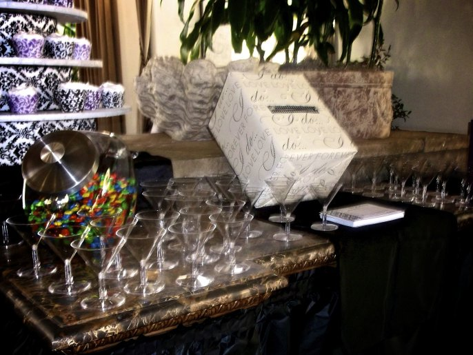 bridal shower ideas candy station